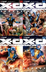 X-O Manowar Lot 39 40 41 42 Cover A