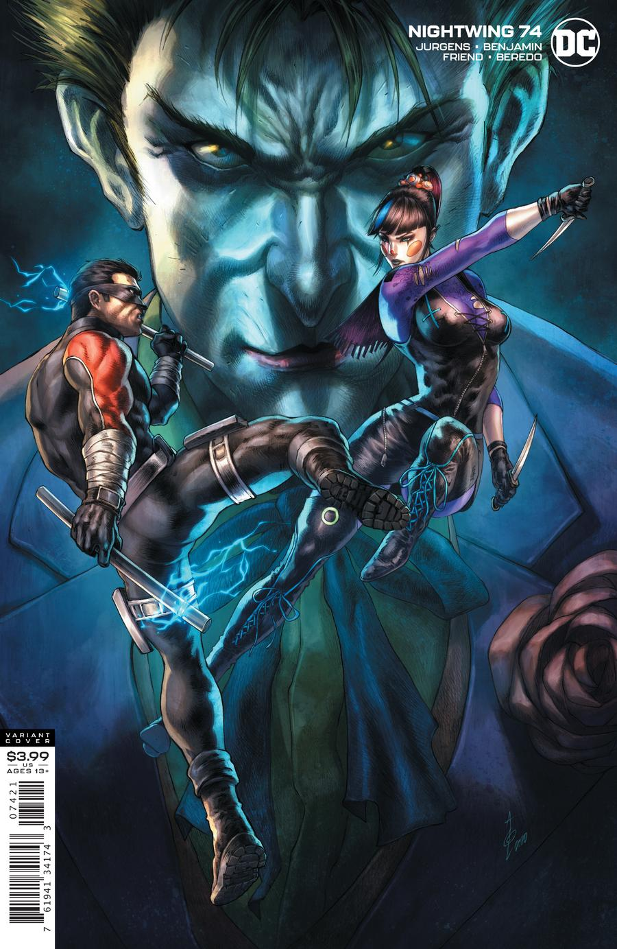 Nightwing Vol 4 #74 Cover B Alan Quah Variant