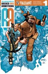 A&A: Archer & Armstrong #1 Cover A Lafuente