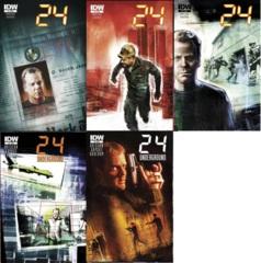 24 Lot 1 2 3 4 5 Mini Series Set
