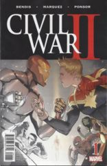 Civil War II #1 (Of 6) Premiere Variant (ANADM)