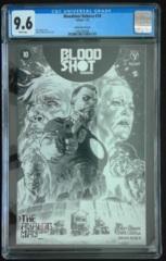 Bloodshot Reborn #10 1:50 LaRosa Sketch Variant CGC 9.6