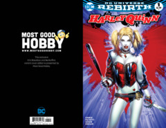 Harley Quinn #1 Most Good Exclusive EBAS Variant (REBIRTH)