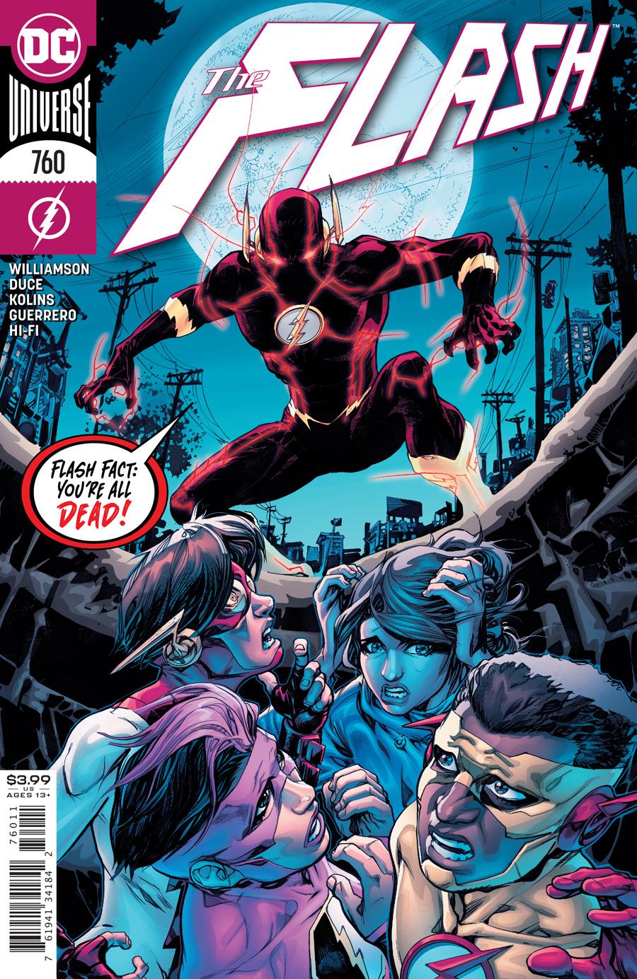 Flash Vol 1 #760 Cover A Howard Porter