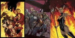 GFT Inferno Rings of Hell #1 (of 3) Lot Cover A B C Set
