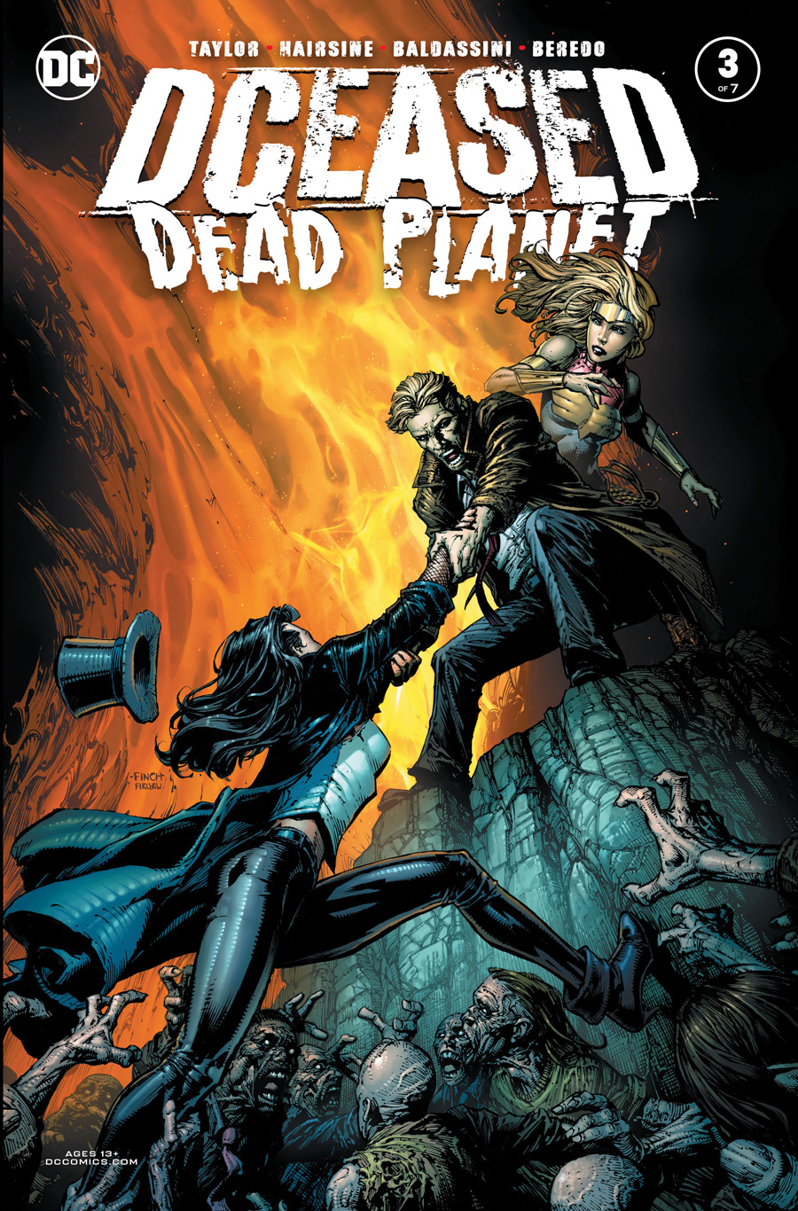 Dceased Dead Planet #3 (Of 7) Cover A David Finch