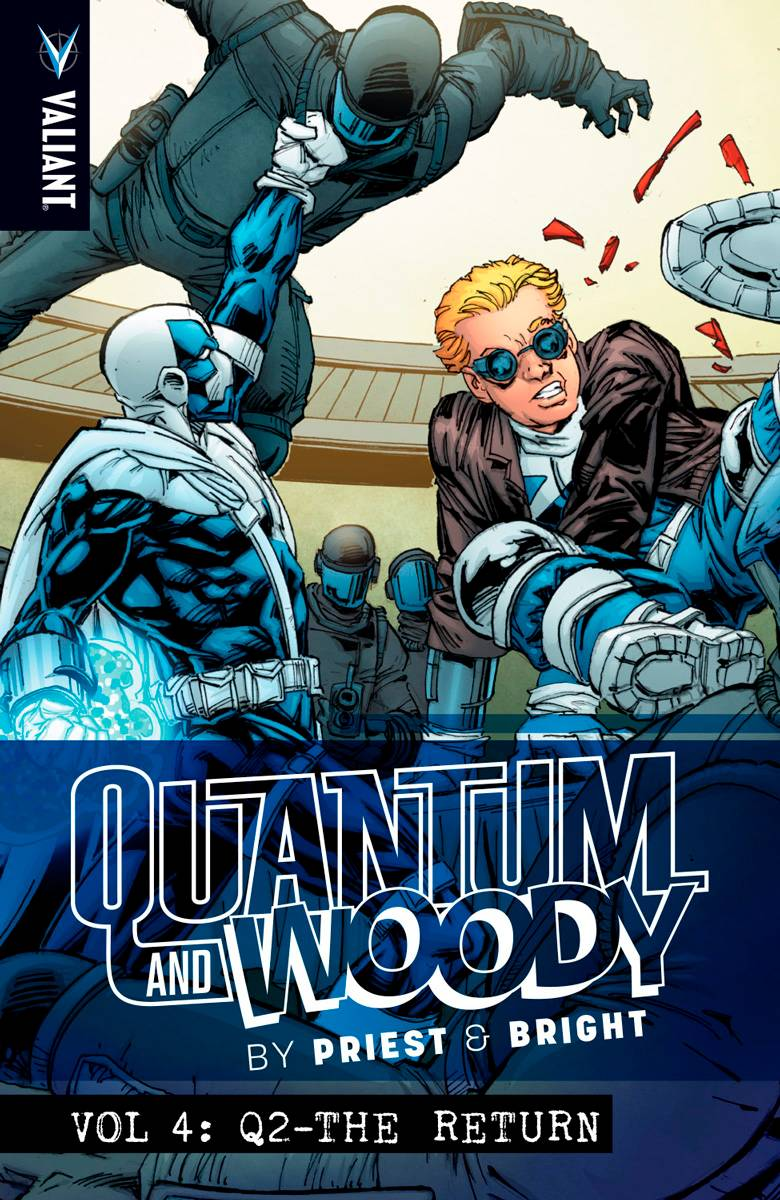 Priest & Brights Quantum & Woody Vol 4 Q2 The Return TPB