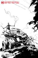 Dark Nights Death Metal #2 (Of 6) Cover E 1:100 Greg Capullo B/W Variant