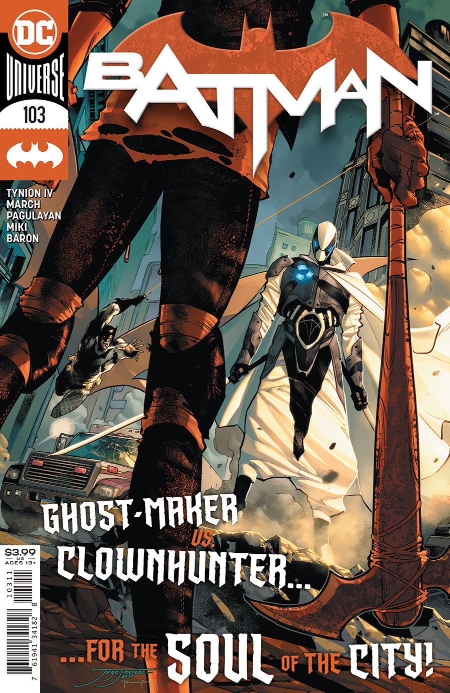 Batman Vol 3 #103 Cover A Jorge Jimenez