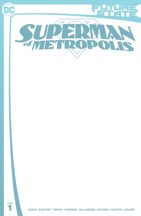 Future State Superman Of Metropolis #1 (Of 2) Cover C Blank Variant