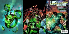 Green Lantern The Lost Army Lot 1 2 3