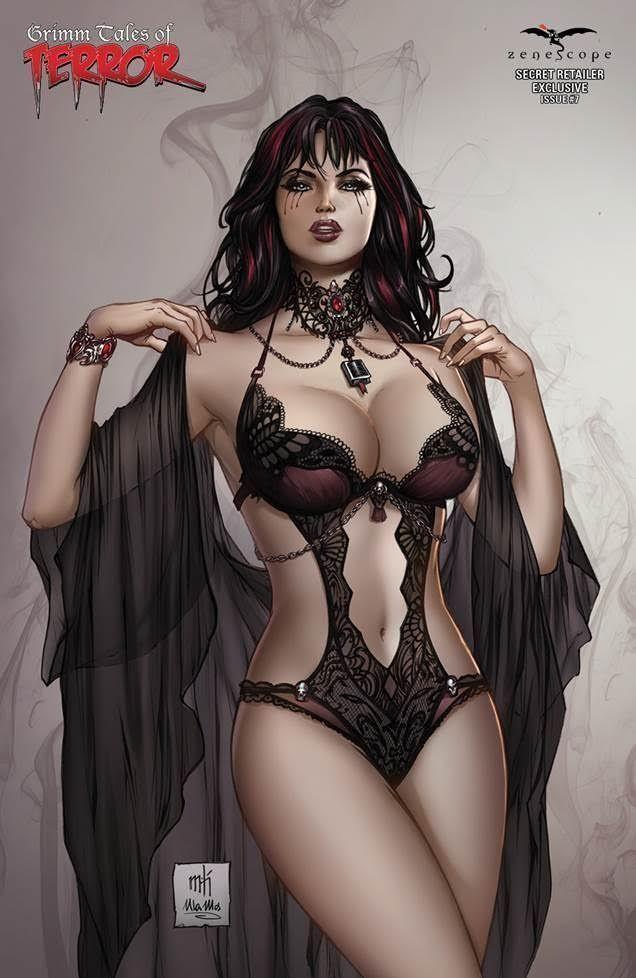 Grimm Tales Of Terror #7 Cover D Mike Krome Secret Retailer Exclusive