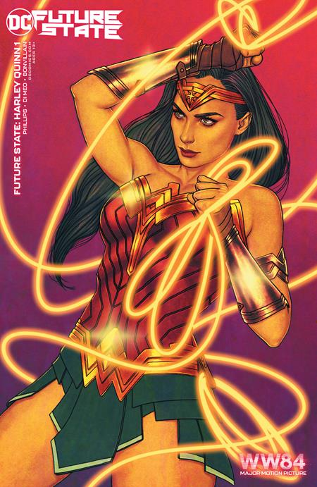 Future State Harley Quinn #1 (Of 2) Cover C Wonder Woman 1984 Jenny Frison Variant