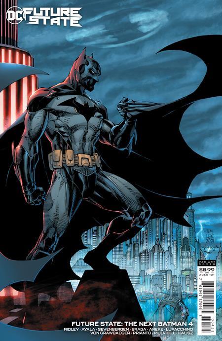 Future State The Next Batman #4 (Of 4) Cover B Jim Lee & Scott Williams Variant