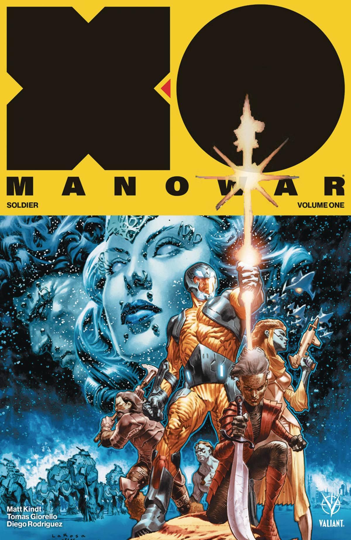 X-O Manowar 2017 Vol 1 Soldier TPB