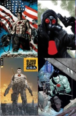Bloodshot USA Lot 1 2 3 4 Cover B Set