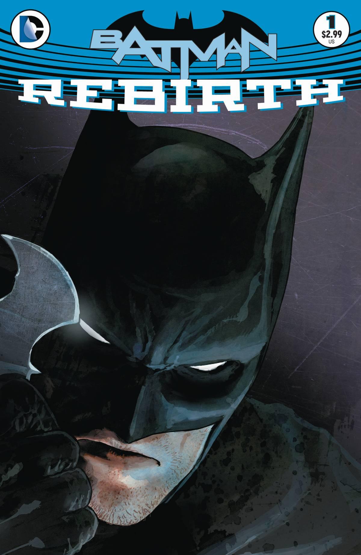 Batman Vol 3 Rebirth #1 Cover A Mikel Janin (REBIRTH)