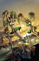 Zombies Vs Cheerleaders 2015 St Pattys Day #1 Cover C Qualano