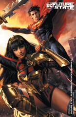 Future State Superman Wonder Woman #1 (Of 2) Cover B Jeremy Roberts Variant