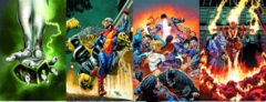 Earth 2 Worlds End Lot 5 6 7 8 (Month 2 Set)