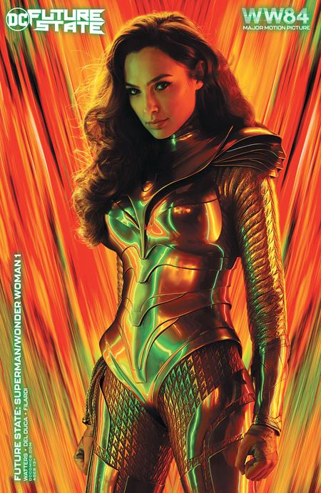 Future State Superman Wonder Woman #1 (Of 2) Cover C Wonder Woman 1984 Movie Poster Art Variant