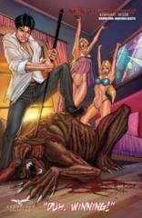Monster Hunters' Survival Guide #4 Cover C Pasquale Qualano Zenescope Exclusive LTD 500
