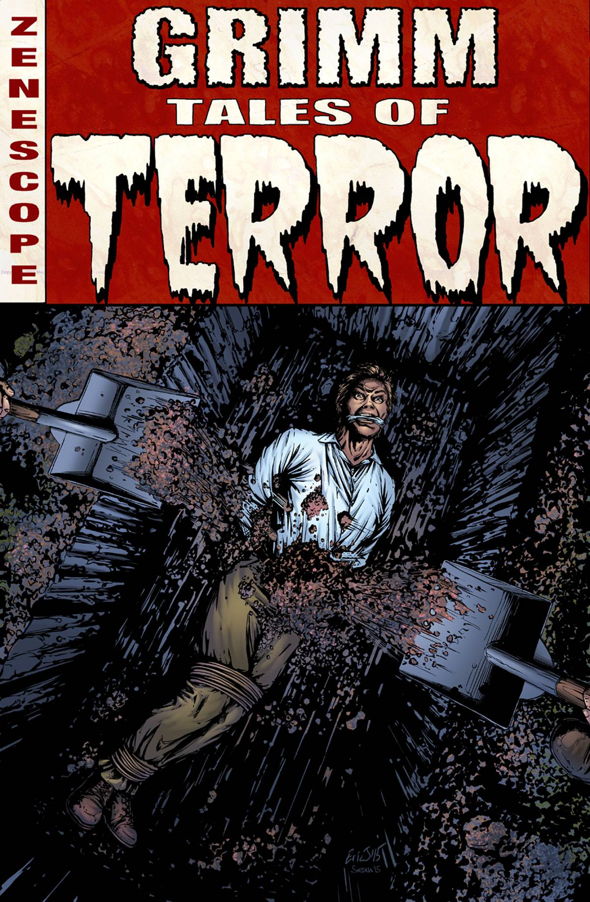 GFT Tales Of Terror #12 C Cover Eric J