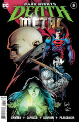 Dark Nights Death Metal #5 (Of 7) Cover A Greg Capullo Embossed Foil