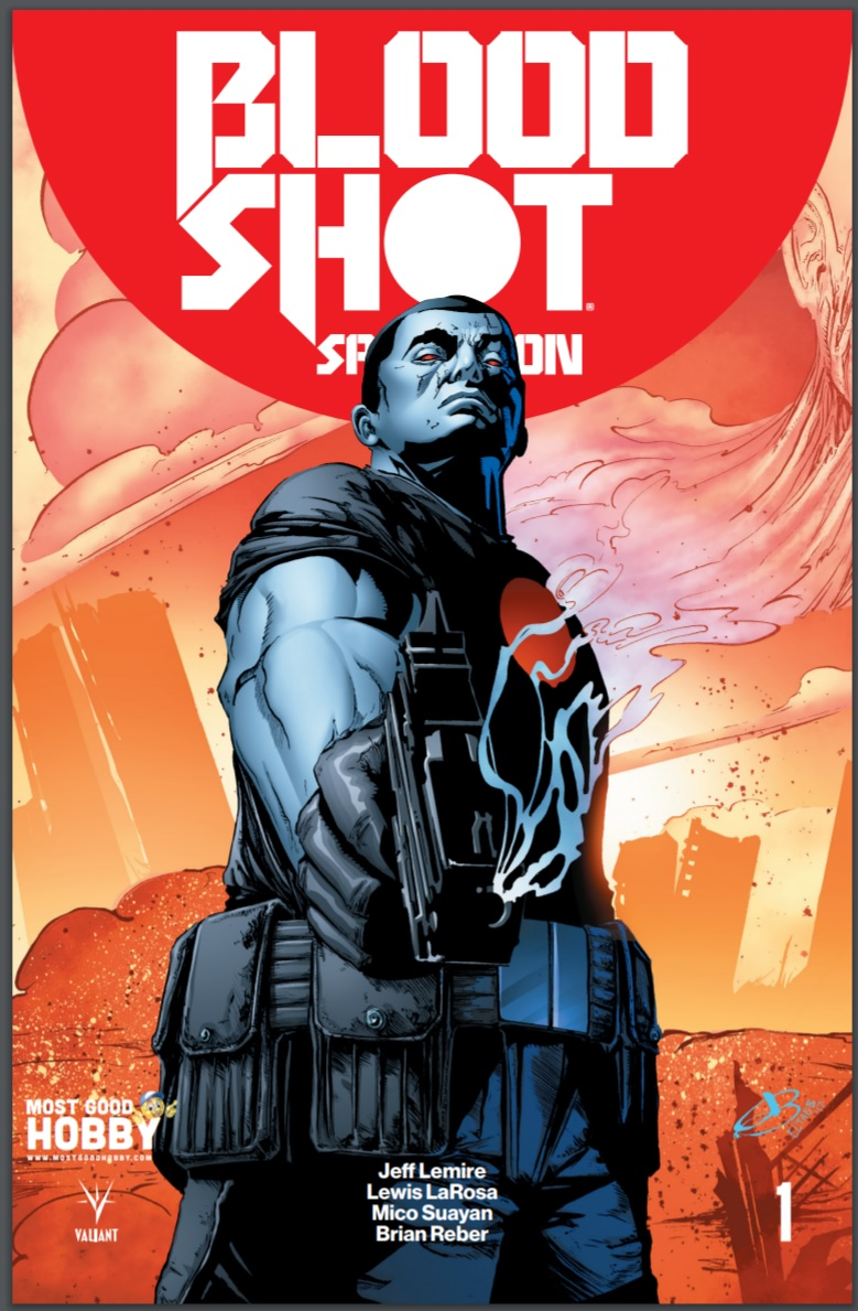 Bloodshot Salvation #1 Most Good Exclusive Jen Broomall Variant