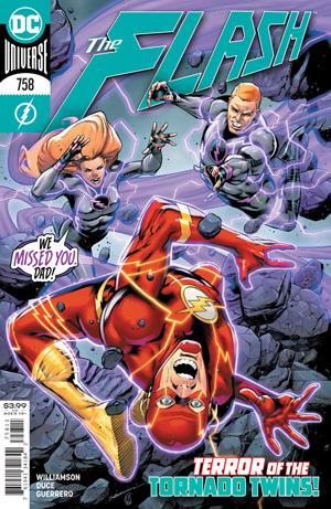 Flash Vol 1 #758 Cover A Rafa Sandoval