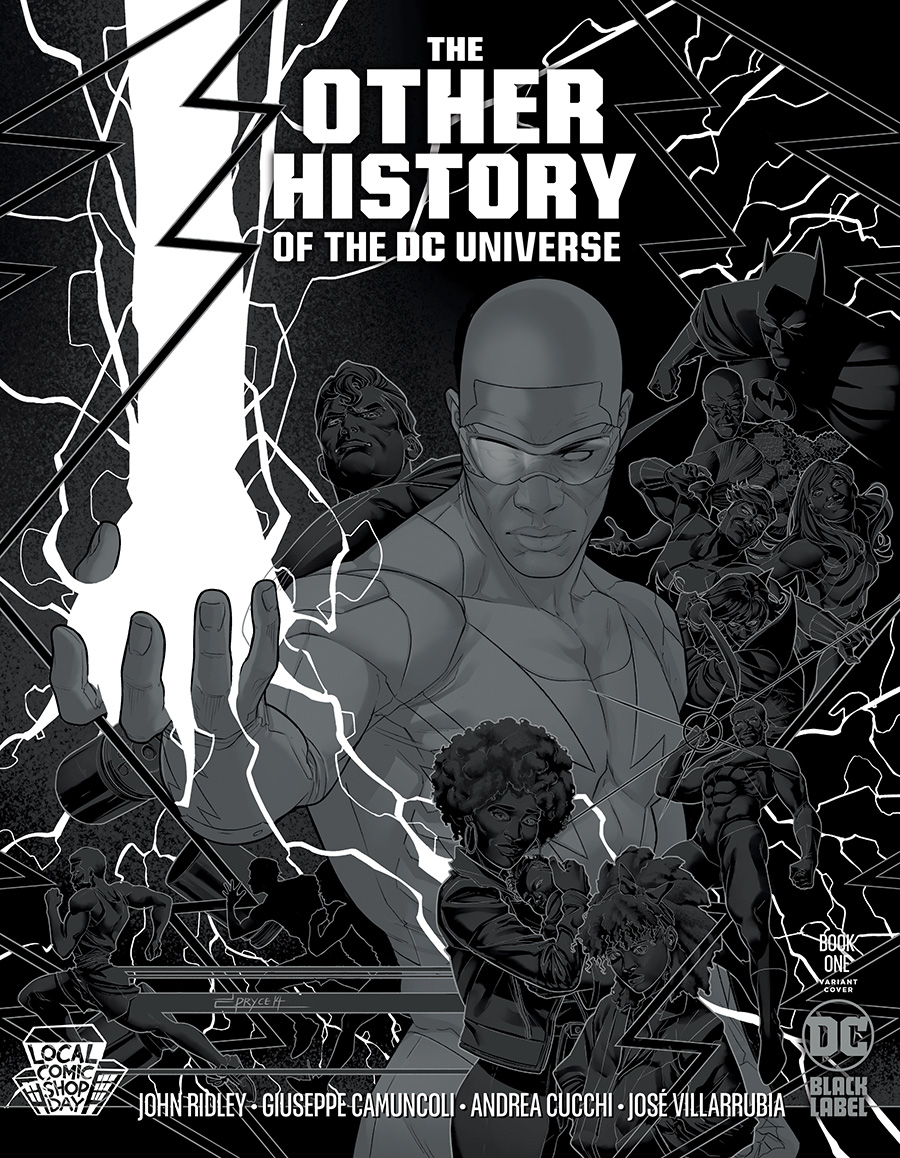 Other History Of The DC Universe #1 (Of 5) LCSD Jamal Campbell Silver Metallic Ink Variant