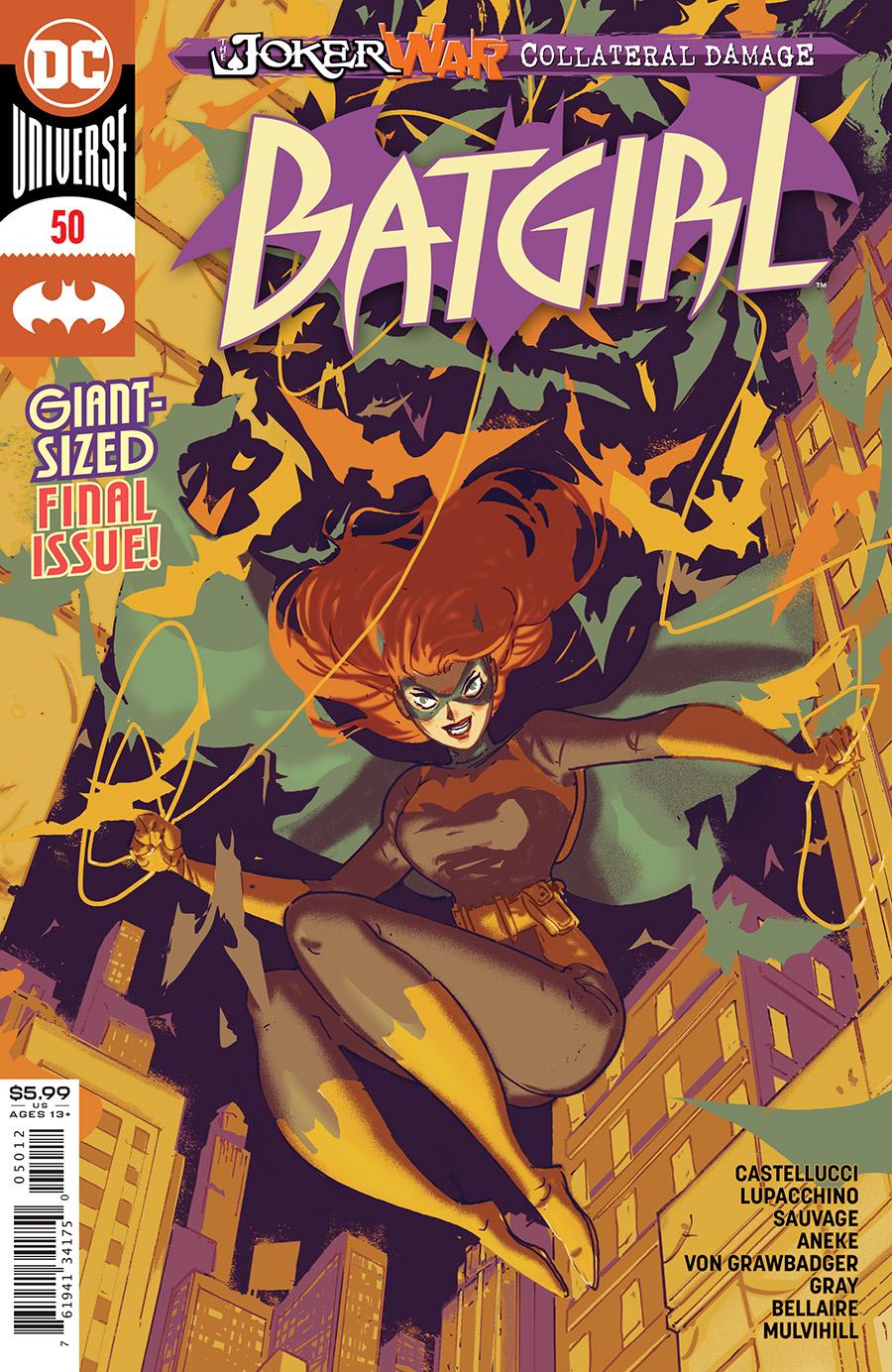 Batgirl Vol 5 #50 2nd Printing Riley Rossmo Variant