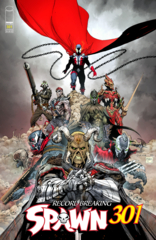 Spawn #301 Cover F Jerome Opena Variant