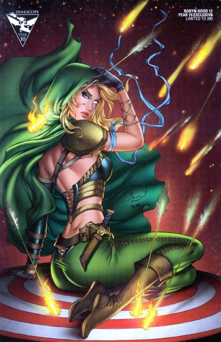 GFT Robyn Hood Ongoing #12 Cover D Dawn McTeigue Year 10 Exclusive LTD 200
