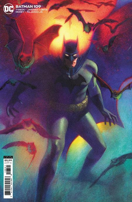 Batman Vol 3 #109 Cover B Joshua Middleton Variant