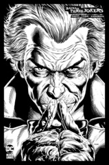Batman Three Jokers #2 (Of 3) Cover D 1:100 Jason Fabok B/W Joker Variant