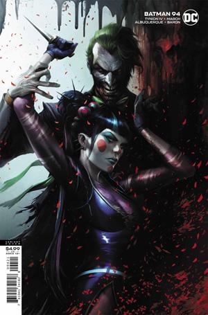 Batman Vol 3 #94 Cover B Francesco Mattina Variant