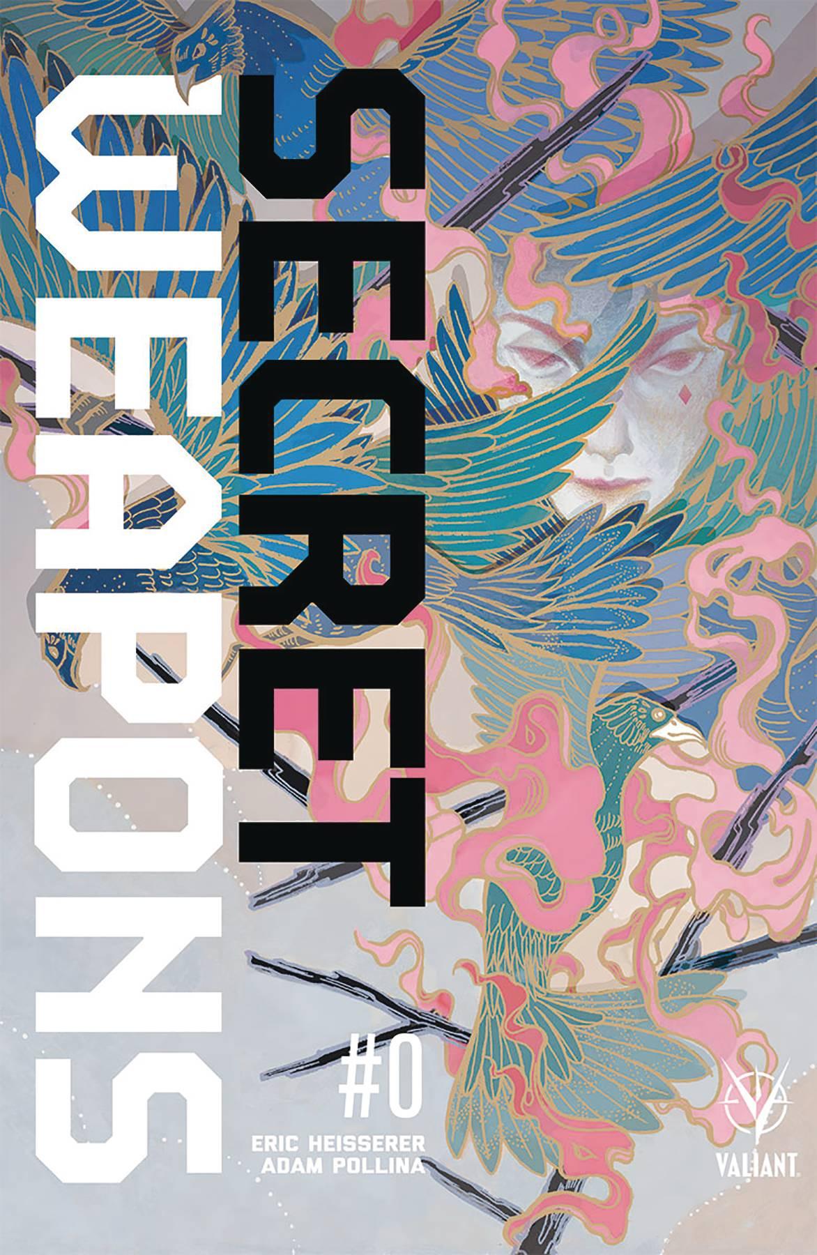 Secret Weapons #0 Cover D 1:20 Variant Hong