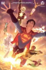 Legion Of Super-Heroes Vol 8 #7 Cover B Alex Garner Variant