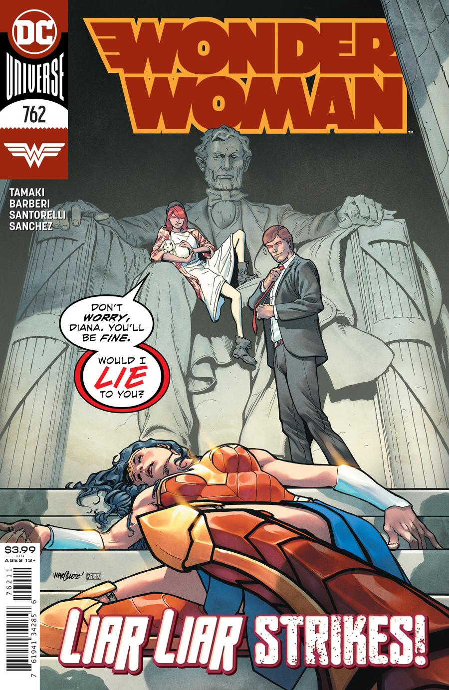 Wonder Woman Vol 1 #762 Cover A David Marquez