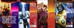 Siege Lot 1 2 3 4 Set (Secret Wars)