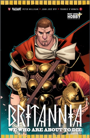 Britannia We Who #1 (Of 4) MGH Exclusive Lafuente Variant