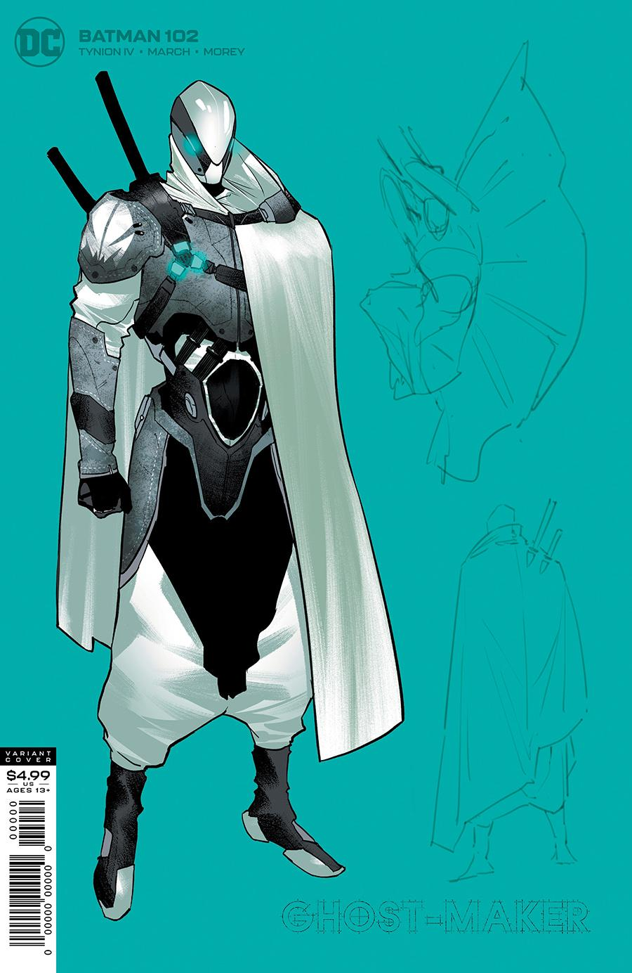 Batman Vol 3 #102 Cover C 1:25 Jorge Jimenez Ghost-Maker Variant