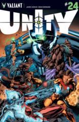 Unity #24 Cover A Bernard