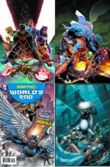 Earth 2 Worlds End Lot 1 2 3 4 (Month 1 Set)