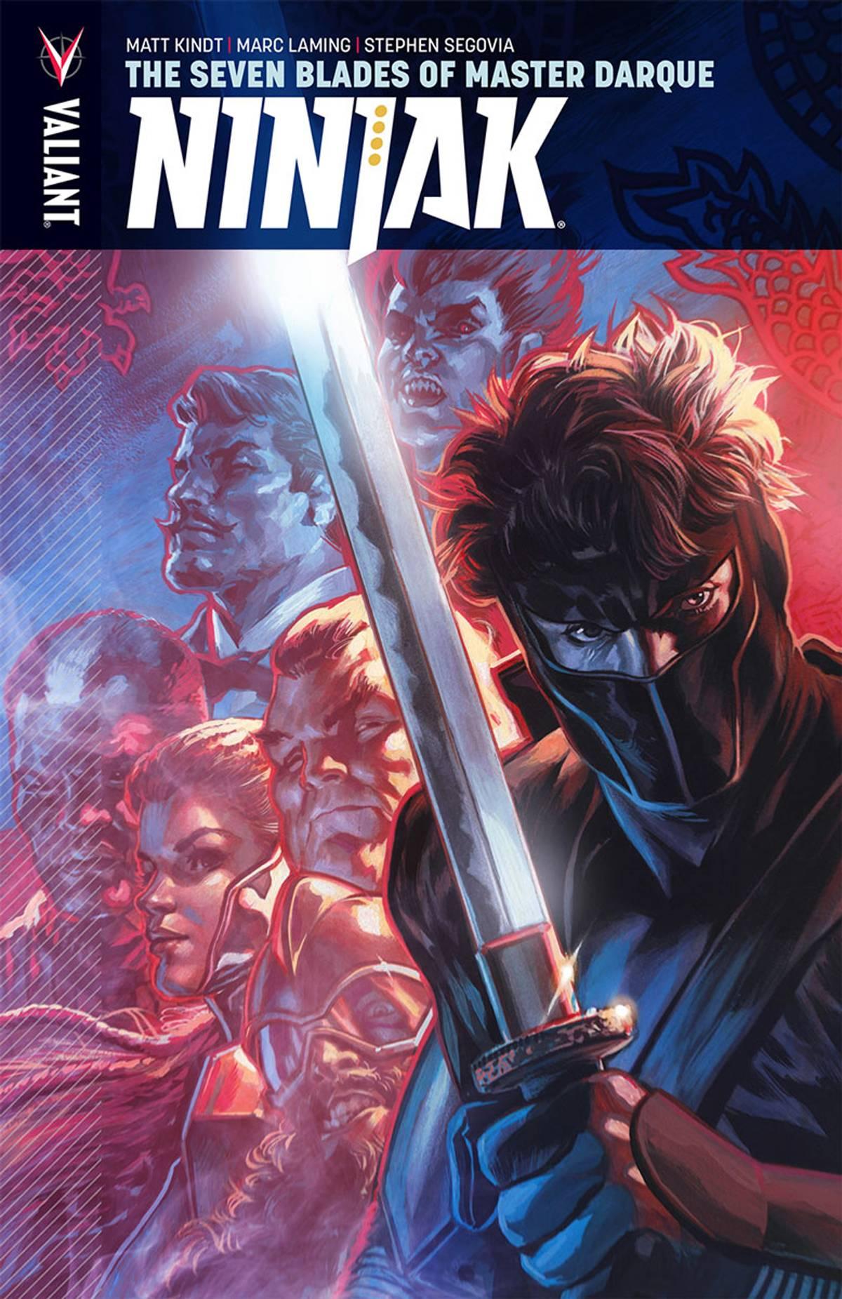 Ninjak Vol 6 The Seven Blades Of Master Darque TPB