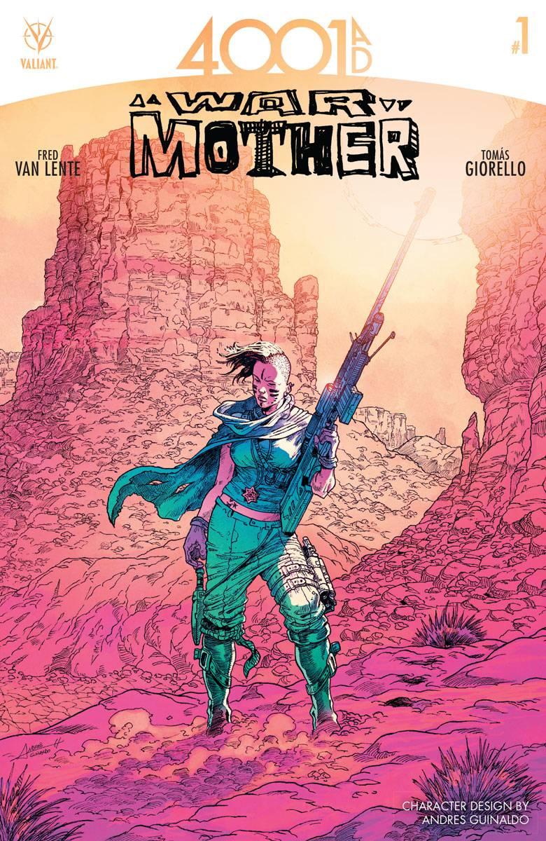 4001 AD War Mother #1 Cover D 1:10 Variant Guinaldo