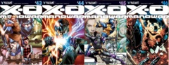 X-O Manowar Lot 43 44 45 46 Cover A