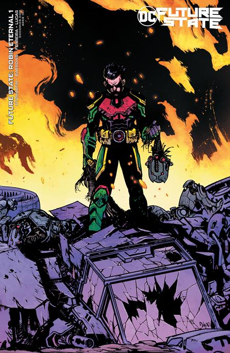 Future State Robin Eternal #1 (Of 2) Cover B Daniel Warren Johnson Variant