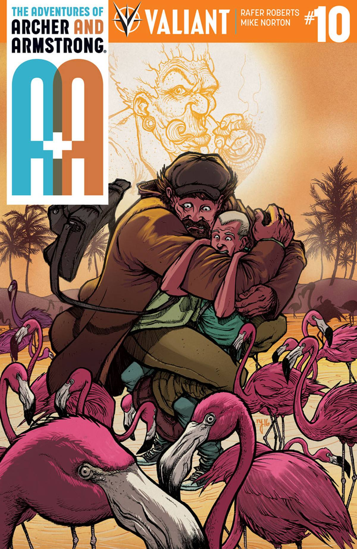 A&A #10 Cover A Lee